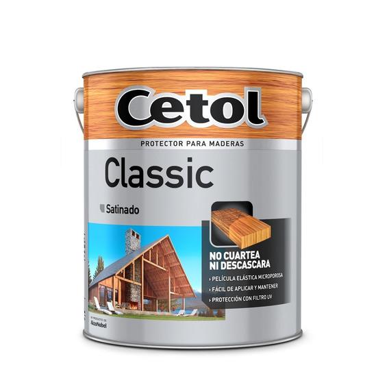 Cetol Classic Satinado 4l Protector Exterior Madera Pintumm