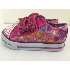 Zapatillas Skechers Twinkle Toes Luces On/off Nuevas 22