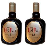 Whisky Old Parr De Luxe 750ml Escoces Scotch Blended X2