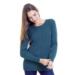 Sweaters Escote Redondo Color Esmeralda de Mujer en Capital Federal ... 2e72344a8ff3