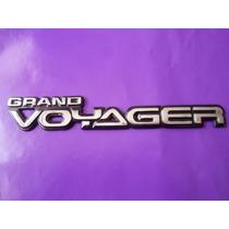 Emblema Grand Voyager Chrysler Camioneta