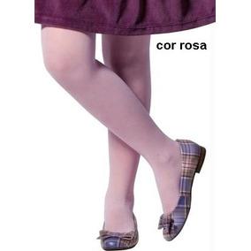 Meia Calça Infantil Fio 20 Rosa Ou Branca .