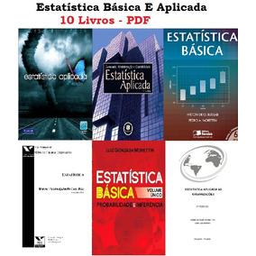 Coleção - Estatística Básica E Aplicada - 10 Unidades