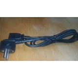 Cable Ficha Americana Y Yuco Hasta 250 Volts 16 Amperes