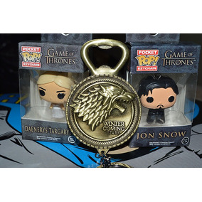 Chaveiro Daenerys Funko Pop Game Of Thrones Jon Snow