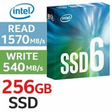 Disco Estado Solido Ssd M2 2280 Intel 600p 256 Gb 1570 Mb/s