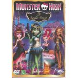 Dvd Monster High - 13 Monster Desejos - Novo***
