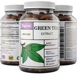 Natural Antioxidante Extracto De Té Verde - Pure 500 Mg Fat