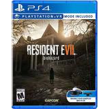 Nuevo Resident Evil 7 Playstation 4 Envío Inmediato