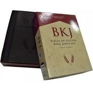 Bíblia De Estudos King James Fiel 1611  Lançamento Com Caixa