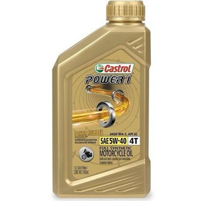 Aceite Sintetico Moto Bmw Castrol Power 1 5w40 Caja 6/946ml.