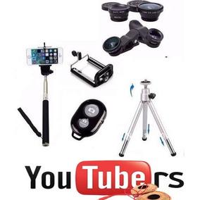 Kit Youtuber Gravação Celular Video Acessorios