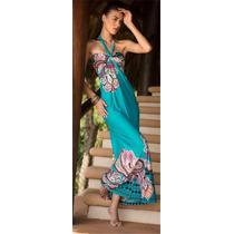 Hermosos Vestidos Largos De Playa Varios Modelos