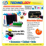 Sistema Epson T50 Tx270wd R270 R290 R390 Rx590 + Full Tinta