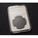 Protector Profesional Plastico Moneda 21mm Plata Oro
