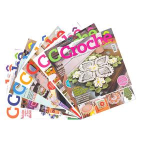 Revistas Coleção Círculo Crochê Casa Com Gráficos E Receitas