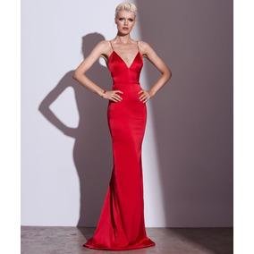 Vestidos de fiesta rojos corte sirena