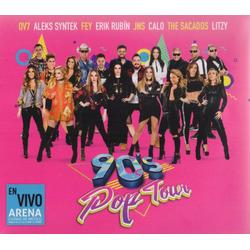 90 ' S Pop Tour Ov7 Aleks Syntek Fey Y Mas 2 Discos Cd + Dvd