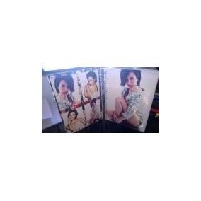 Caderno 10 M + Adesivos + Mini Demi Lovato