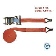 Criquet Tensor Traca Traka Cinta Amarre Carga 1.5t 25mm X4mt