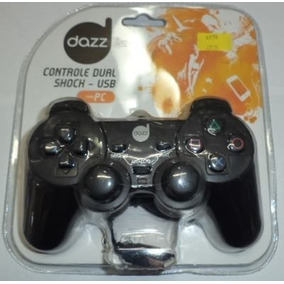 Controle Usb Para Pc Dual Shock Daz