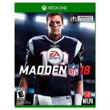 Juego Madden Nfl 18 Xbox One Maden Nfl18 Caja Nuevo Alclick