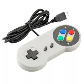 Controle Super Nintendo Usb Para Pc Snes
