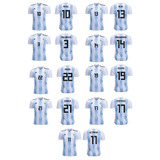 Camiseta Argentina 2018 adidas Messi-pavon-aguero-meza-etc
