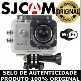 Sj4000 Wifi Original Com Microfone Externo By Pato Motos Jr