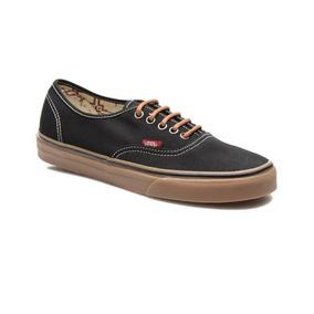 zapatillas vans suela marron