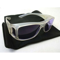 Gafas Hd Vision - Lente Azul Marco Transparente