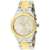 Reloj Swatch Dreamnight Ycs590g Dorado/plateado Para Hombre