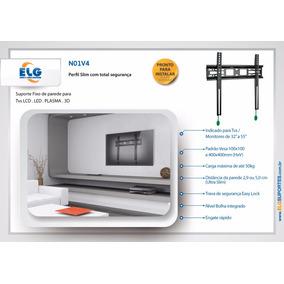Suporte Tv 32 A 65 Lcd-led-4k-tela Curva Com Trava Lg N01v4