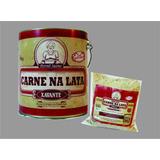 Carne Na Lata Xavante 3,4kg + Paçoca De Carne Na Lata