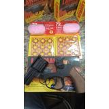 Arminha De Brinquedo.357magnum Rambo (1 Lawman + 4 Cartelas)