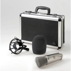 Microfone Condensador Behringer B2 B-2 Melhor Q Arcano