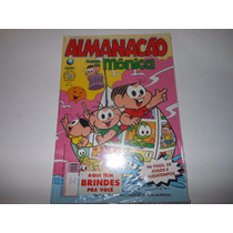 Almanacão Turma Da Mônica Nº 8 + Brinde