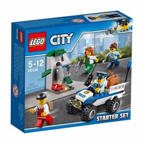 Lego City 60136 Conjunto De Iniciação Da Polícia 80 Peças