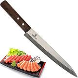 Cuchillo De Sushi Japonés Yanagiba Sashimi Soufull 325mm