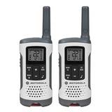 Walkie Talkie Handy Radio Motorola T260mc 40km +envio Gratis