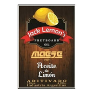 Aceite De Limón Para Diapasón - Jack Lemon's