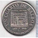 Moneda De Panamá ¼ Balboa, 2008