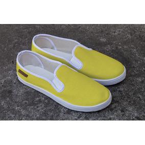 Slip On Solid Yellow
