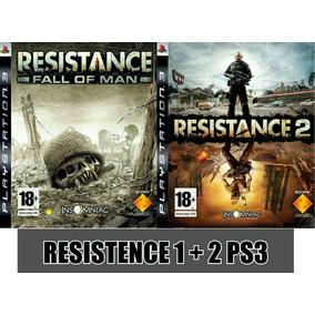 Resistance 1 + 2 Español 2 × 1 - Mza Games Ps3