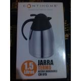 Jarra Termo Para Café 1.5 Litros Acero Inoxidable.
