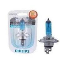 Lâmpada Farol Moto H4 Philips Crystal Vision 4300k Xenon