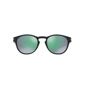 Oakley Latch Oo9265 28 Preto Fosco Lente Verde Prizm Jade T 18f05c217e