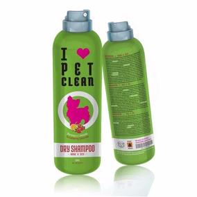 Shampoo Spray A Seco Pet Clean Dry 150ml Para Cães