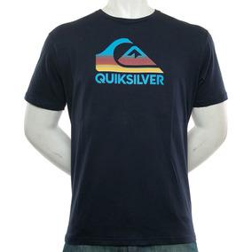Remera Waves Ahead Blue Quiksilver Fluid Tienda Oficial