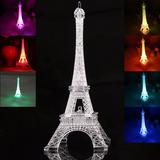 3d Led Lámpara Torre Eiffel - Super Oferta!